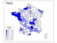 Recensement des pots acoustiques en France